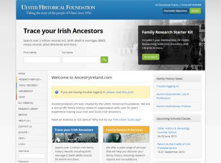 Ancestry Ireland